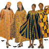 Kente Umbrella Dress